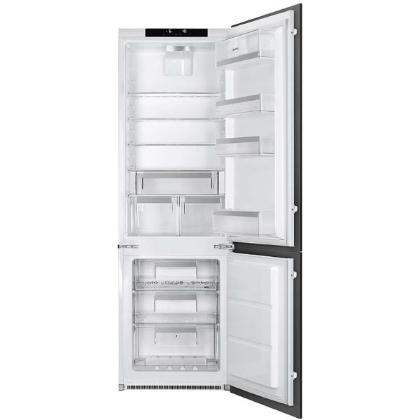 Встраиваемый холодильник комби SMEG C7280NLD2P1