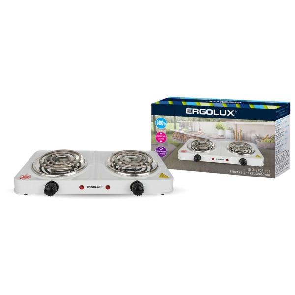 Электроплитка Ergolux ELX-EP02-C01