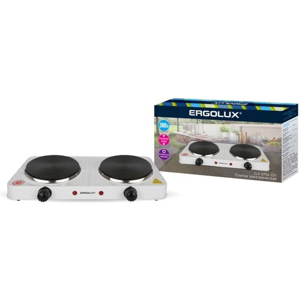 Купить Электроплитка Ergolux ELX-EP04-C01 в каталоге интернет магазина М.Видео по выгодной цене с доставкой, отзывы, фотографии - Тольятти