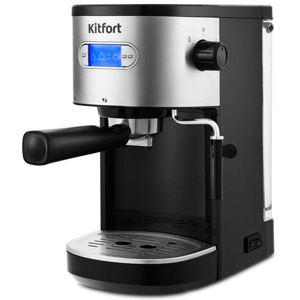 Кофеварка рожкового типа Kitfort КТ-740 - наличие в магазинах М.Видео - Курск