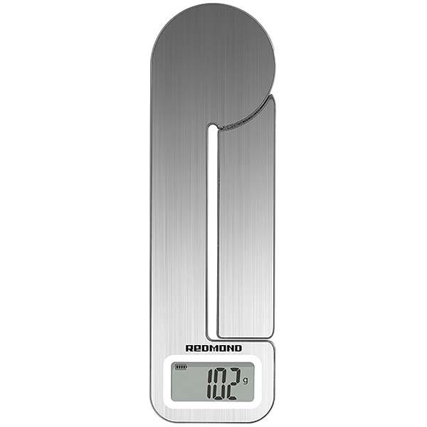 Весы кухонные Redmond RS-758 цвет нерж. сталь/серебр.
