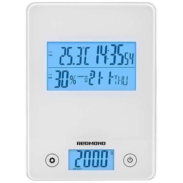Весы кухонные Redmond RS-759 белого цвета