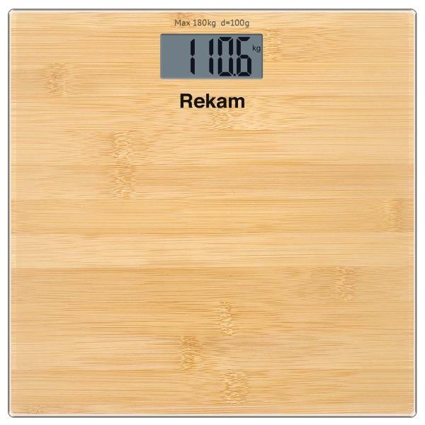 Весы напольные Rekam BS 150C цвет бамбук