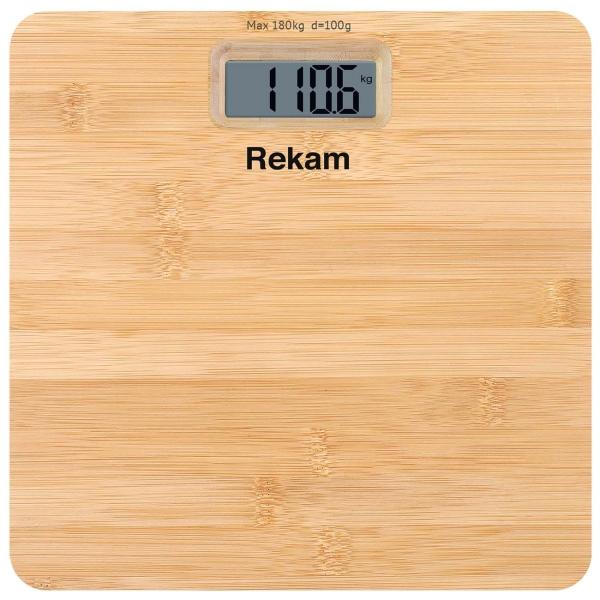 Весы напольные Rekam BS 170C цвет бамбук