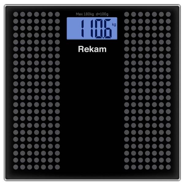 Весы напольные Rekam BS 350C цвет антрацит/серый