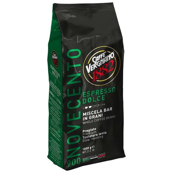Кофе в зернах Vergnano Espresso 900, 1000 г кофе в зернах paulig espresso arabica italiano арабика 1000 г