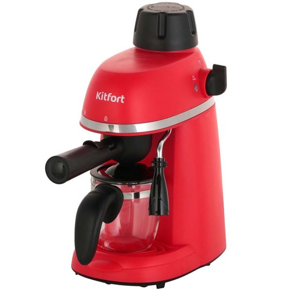 Кофеварка рожкового типа Kitfort КТ-760-1 Red