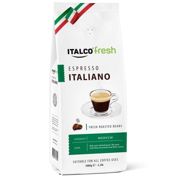 Кофе в зернах Italco Espresso Italiano,1000г кофе в зернах paulig espresso arabica italiano арабика 1000 г