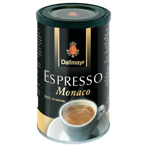 Кофе молотый Dallmayr Espresso Monaco молотый 200g цвет черный/ золотистый