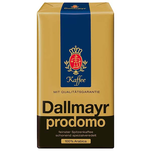 Кофе молотый Dallmayr Prodomo молотый HVP 0,25kg цвет синий/золотистый