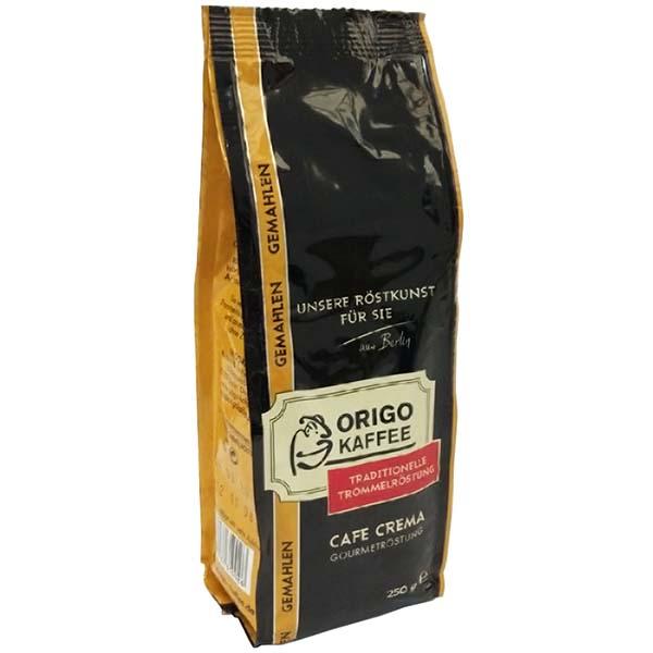 Кофе молотый ORIGO Cafe Crema Gourmet R?stung молотый 0,25kg