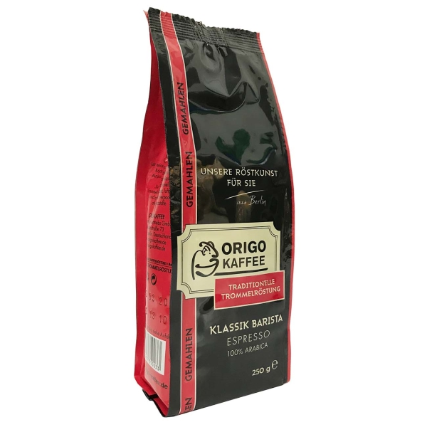 Кофе молотый ORIGO Klassik Barista Espresso молотый 0,25kg