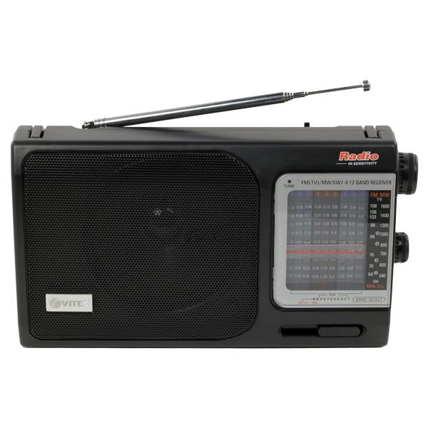Радиоприемник VITEK VT-3582 BK радиоприемник дв св укв