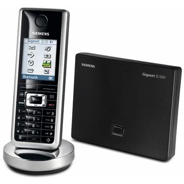 Телефон DECT Siemens Gigaset SL560 black - характеристики, техническое описание в интернет-магазине М.Видео - Набережные Челны - Набережные Челны