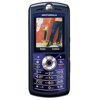 a2c43c4fb7a1f Мобильный телефон Motorola L7 E blue - характеристики, техническое ...