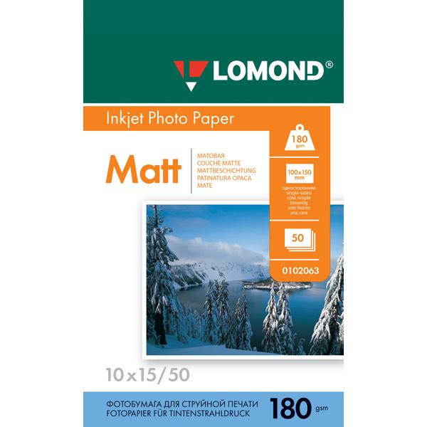 Фотобумага для принтера Lomond — 102063