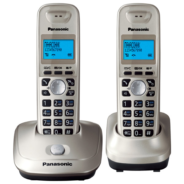 Телефон DECT Panasonic KX-TG2512RUN телефон проводной panasonic kx ts2350ru