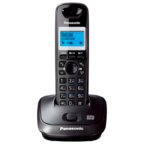 Телефон DECT Panasonic KX-TG2521RUT блок питания panasonic kx a421ce for ncp0158