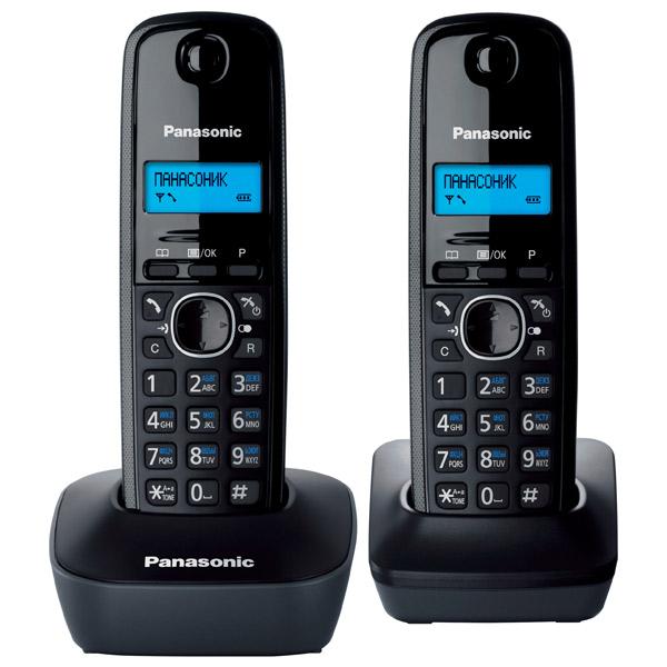 Телефон DECT Panasonic KX-TG1612RUH радиотелефон panasonic kx tg8551 черный kx tg 8551 rub