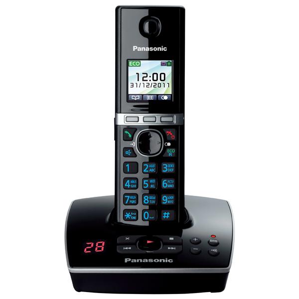 Телефон DECT Panasonic KX-TG8061RUB panasonic kx tg8061 rub dect телефон