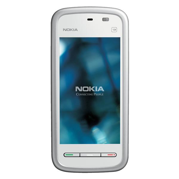 Смартфон Nokia 5228 White Silver