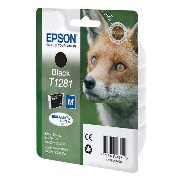 Купить Картридж для струйного принтера Epson C13T12814011 Black в каталоге интернет магазина М.Видео по выгодной цене с доставкой, отзывы, фотографии - Москва