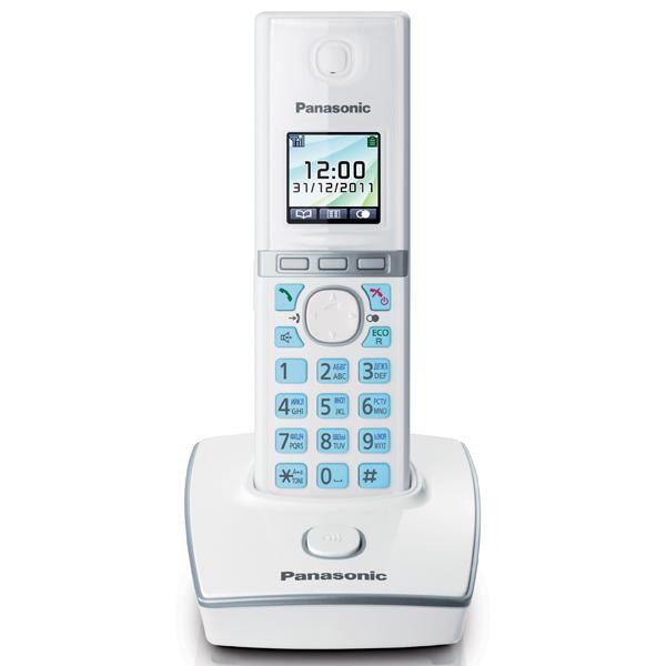 Телефон DECT Panasonic KX-TG8051RUW блок питания panasonic kx a421ce for ncp0158