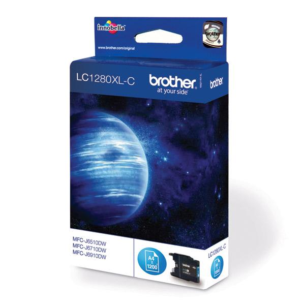 Картридж для струйного принтера Brother LC1280XL-C