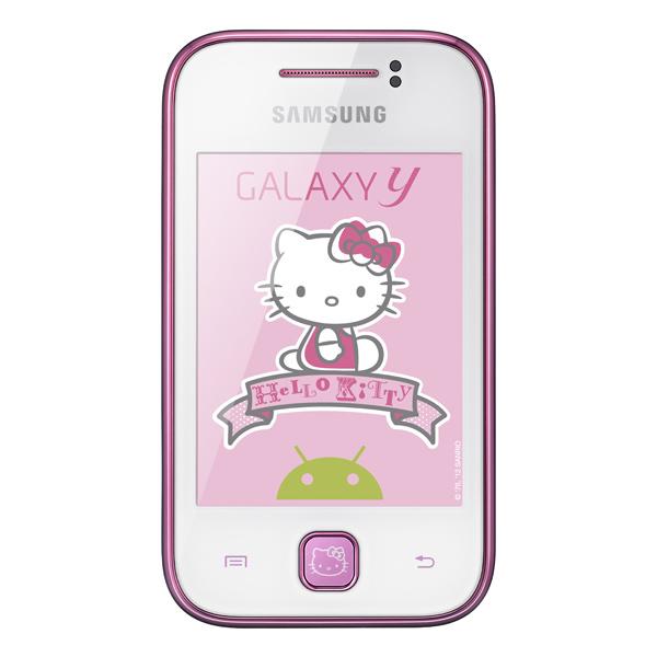 71e2efb51d547 Смартфон Samsung Galaxy Y Hello Kitty GT-S5360 Pure White ...