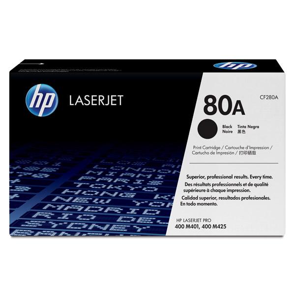 Картридж для лазерного принтера HP 80A LaserJet, черный CF280A картридж для лазерного принтера hp 33a cf233a