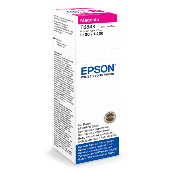 Чернила для принтера Epson — C13T66434A