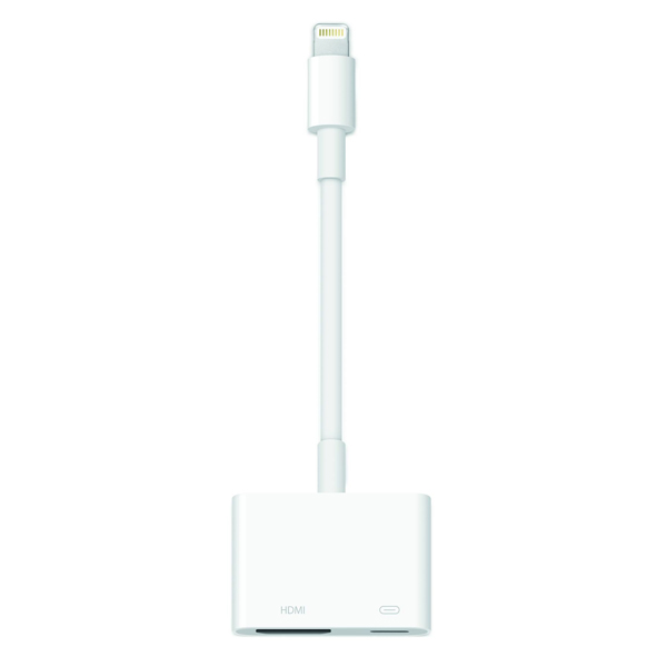 Переходник для iPod, iPhone, iPad Apple Lightning Digital AV Adapter (MD826ZM/A)
