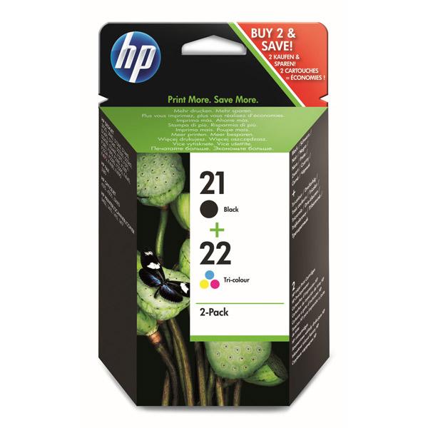 Картридж для струйного принтера HP 21/22 Black/Tri-color SD367AE картридж hp 17 c6625a tri color для dj 840c