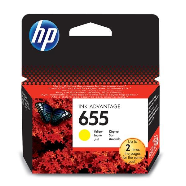 Картридж для струйного принтера HP 655 CZ112AE Yellow картридж для принтера hp 90 c5065a yellow
