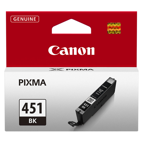 Картридж для струйного принтера Canon CLI-451 BK картридж canon cli 42lgy для pro 100 серый 835 фотографий