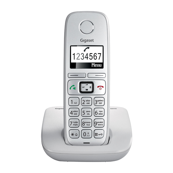 Телефон DECT Gigaset E310 Light Grey телефон беспроводной dect gigaset e310 gray