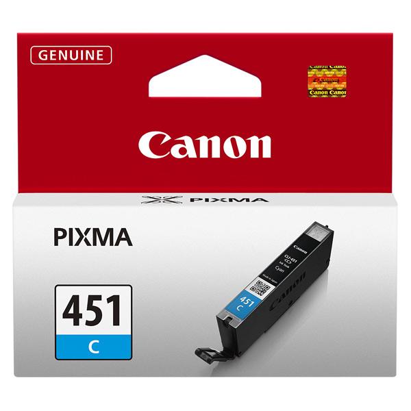 Картридж для струйного принтера Canon CLI-451 C картридж для принтера profiline pl cli 451 cyan