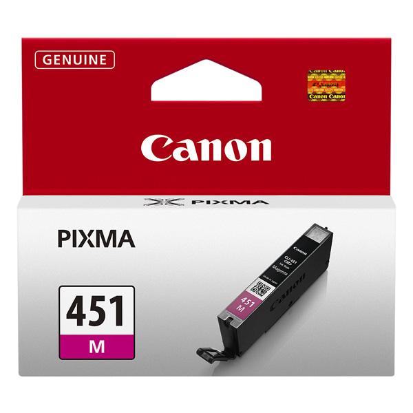 Картридж для струйного принтера Canon CLI-451 M набор картриджей canon cli 451 c m y bk page 9