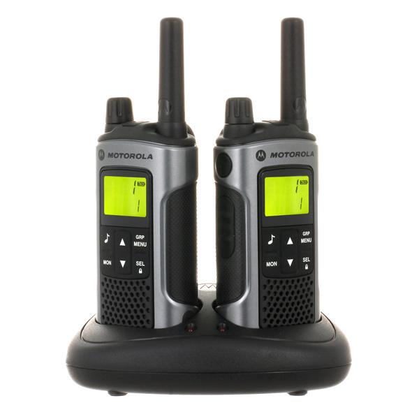 Радиостанция Motorola TLKR T80 (2 штуки) радиостанция motorola tlkr t41