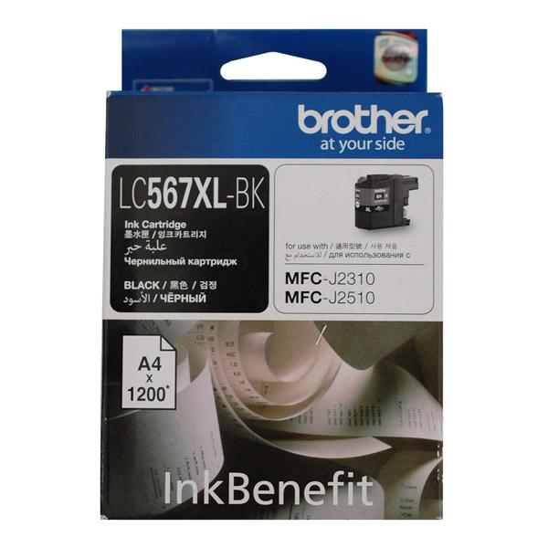 Картридж для струйного принтера Brother LC567XLBK картридж для принтера brother lc1240bk black
