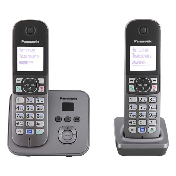 Телефон DECT Panasonic KX-TG6822RUM