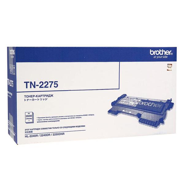 Brother, Картридж для лазерного принтера, TN2275