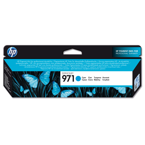Картридж для струйного принтера HP 971 Officejet, Голубой CN622AE service station for hp officejet 7000 6000 6500 7500a hp7000 hp6000 clean ink pump unit
