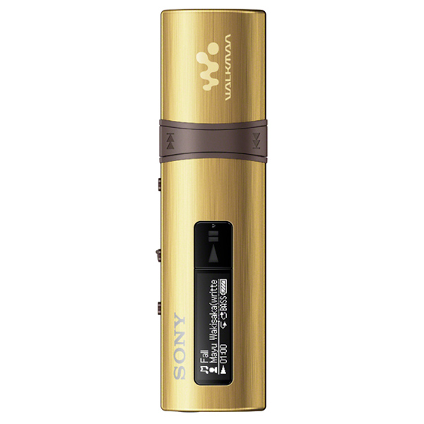 цена на Портативный медиаплеер Sony NWZ-B183F Gold