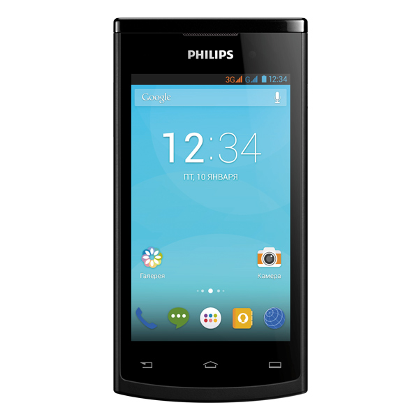 Смартфон Philips S308 Black чехол клип кейс apple для apple iphone 6s plus mkx92zm a коричневый mkx92zm a