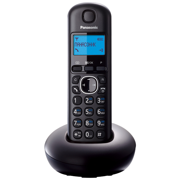 Телефон DECT Panasonic KX-TGB210RUB телефон беспроводной dect panasonic kx tgb210rub black
