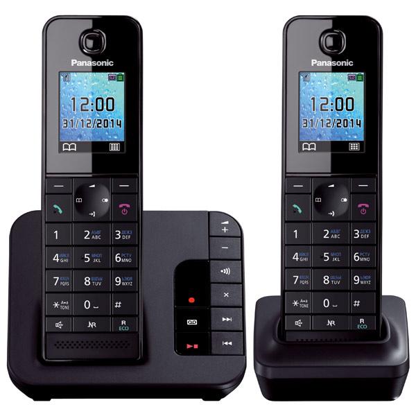 Телефон DECT Panasonic KX-TGH222RUB радиотелефон panasonic kx tg8551 черный kx tg 8551 rub