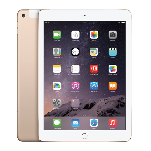 Планшет Apple iPad Air 2 16GB Wi-Fi+Cellular Gold (MH1C2)