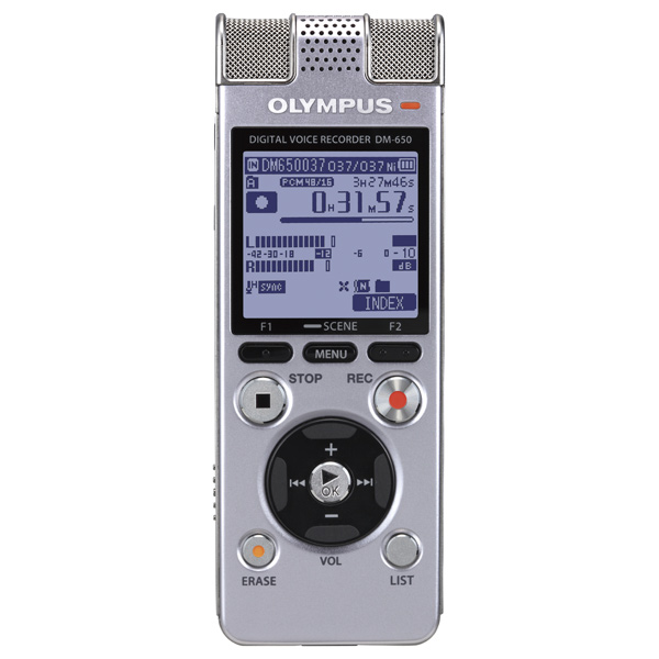 Купить Диктофон цифровой Olympus DM-650 в каталоге интернет магазина М.Видео по выгодной цене с доставкой, отзывы, фотографии - Москва