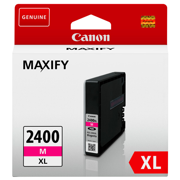 Картридж для струйного принтера Canon PGI-2400XL M двойная упаковка картриджей canon pgi 520bk черный [2932b012]